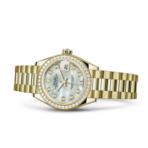 Rolex laying downLady-Datejust 劳力士手錶