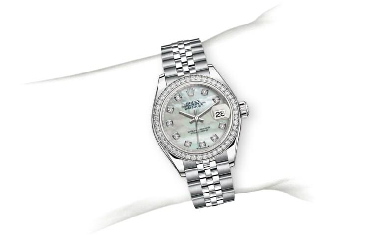Rolex M279384RBR-0011 assets_on_wrist 劳力士手腕 Lady-Datejust