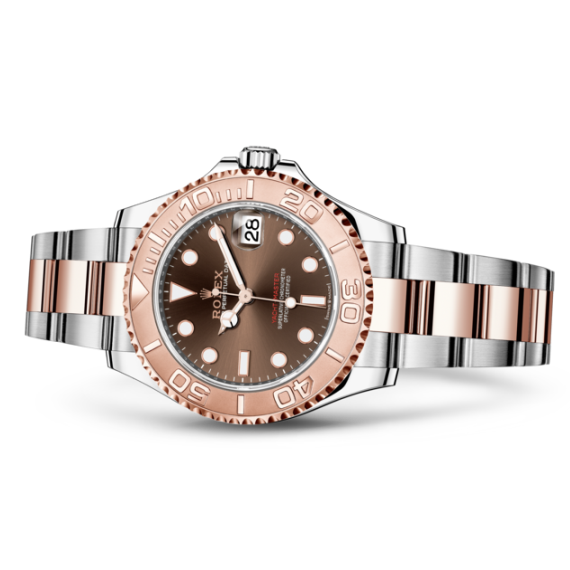 Rolex laying downYacht-Master 37 劳力士手錶