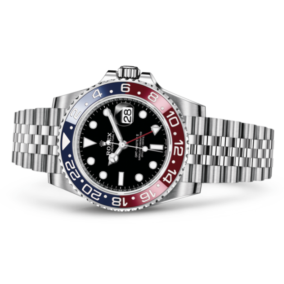 Rolex laying downGMT-Master II 劳力士手錶