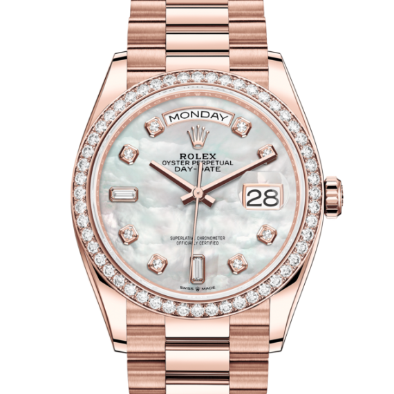 Rolex 劳力士手錶 M128345RBR-0028M128345RBR-0028 128345RBR Day-Date36 Day-Date36